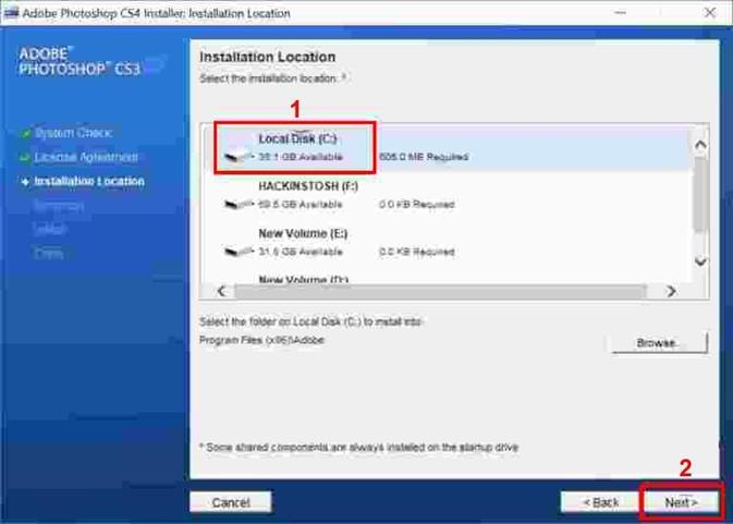 Hướng dẫn Cài Đặt + Download Photoshop CS4 & Portable Full Crack